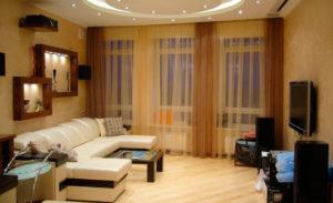 Дизайнерское оформление комнат.