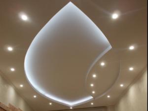 Сфера применения подвесных потолков